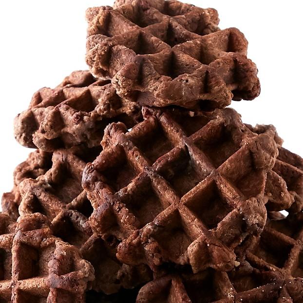 個包装だから食べやすい!!チョコチップ入り☆【訳あり】チョコベルギーワッフル1kg