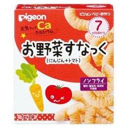 【ピジョン】元気アップカルシウム お野菜すなっく にんじん+トマト 7g×2袋入 ■お取り寄せ商品