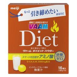 【明治】ヴァーム ダイエットパウダー ピンクグレープフルーツ風味 6g×16袋入 ※お取り寄せ商品