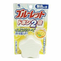 【小林製薬】ブルーレットドボン2倍(無色) グレープフルーツの香り 120g×3個セット☆日用品※お取り寄せ商品