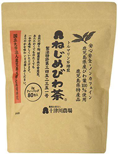 十津川農場 ねじめびわ茶80 (2gティーバック 80包入) ティーバッグ