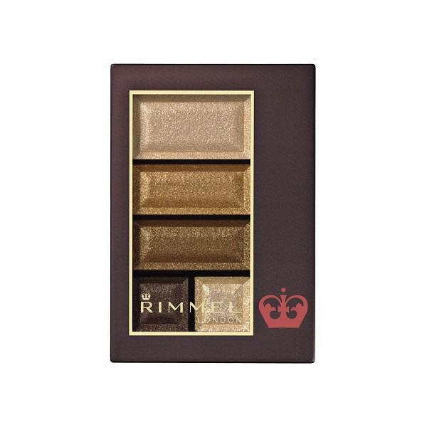 リンメル ショコラスウィートアイズ 001 (ゴールドブラウン系)ゴールドのスパイスがきいたジンジャーショコラ/ アイシャドウ RIMMEL