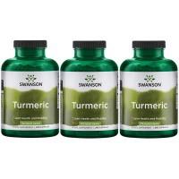 ●Swanson Turmeric Curcumin(ターメリック クルクミン) 720 mg per Cap 240粒×3個