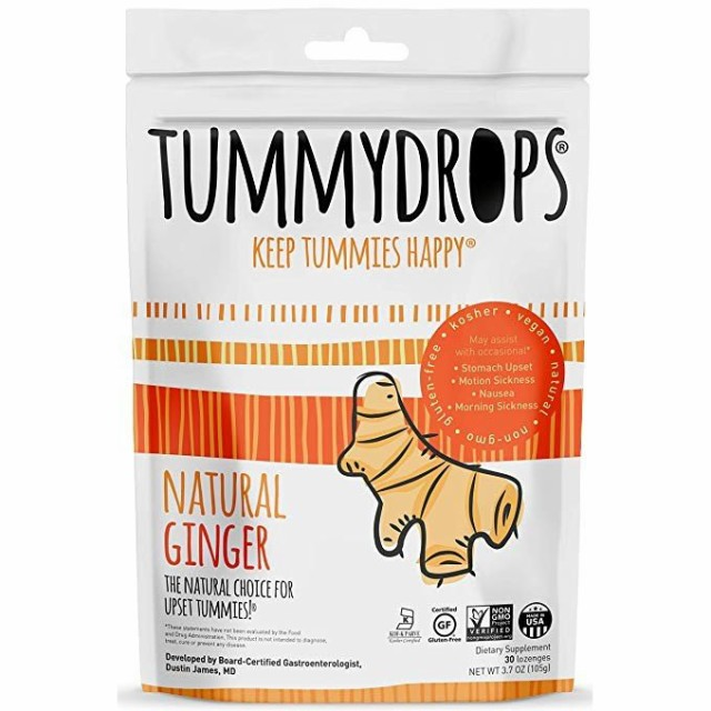 ●Tummydrops Ginger(ジンジャー) 30 Drops