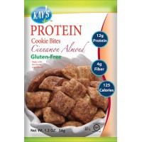 ●Kay s Naturals Protein Cookie Bites Cinnamon Almond Filled 1.2 oz (Pack of 6)