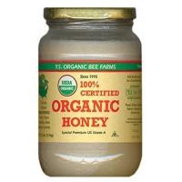●YS Organic Bee Farms CERTIFIED ORGANIC RAW HONEY 100% CERTIFIED 32oz(907g)