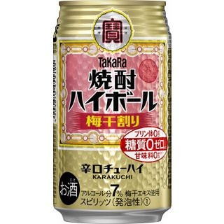 宝 焼酎 ハイボール 梅干割り 350ml 缶 1ケース 24本 TaKaRa タカラ チューハイ 宝酒造