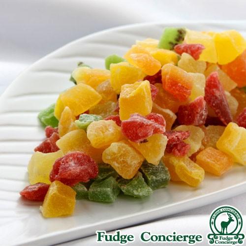 ドライフルーツミックス 500g フルーツキューブ6種類 パイン キーウイ イチゴ メロン パパイヤ マンゴー 便利なチャック付き包装