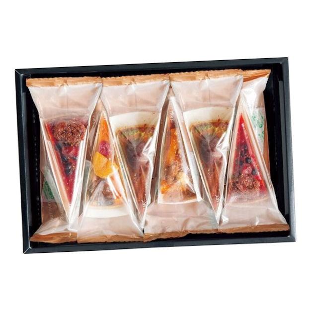 お歳暮 【内祝い お菓子 ギフト】ホシフルーツ フルーツとナッツのタルト 6個 HFNT-6<※【お返し 出産内祝い 出産祝い ギフト 結婚
