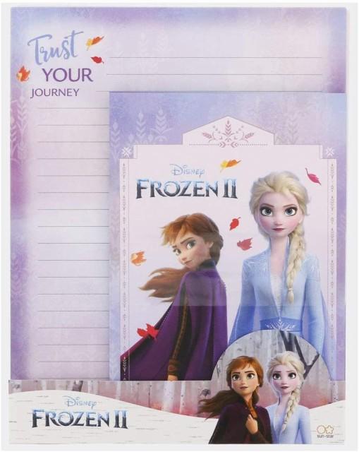 ディズニー レターセット アナと雪の女王2 3D サンスター文具 disney