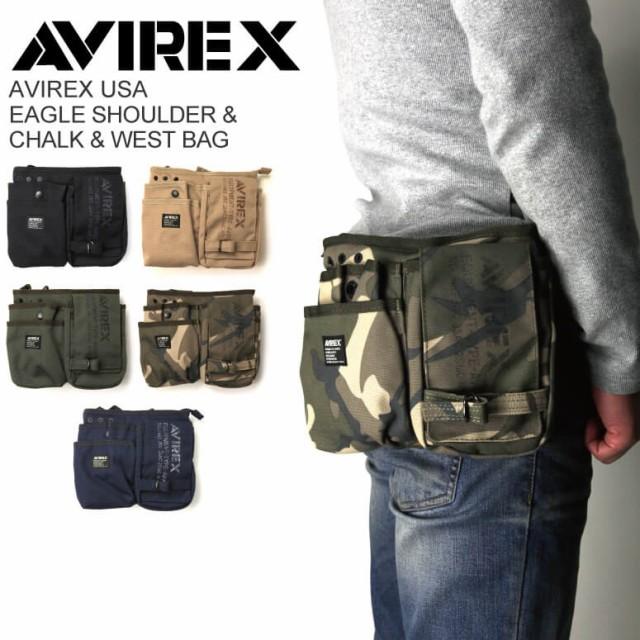 AVIREX/アビレックス/avirex/アヴィレックス・イーグル ショルダー&チョーク・ウエストバッグ