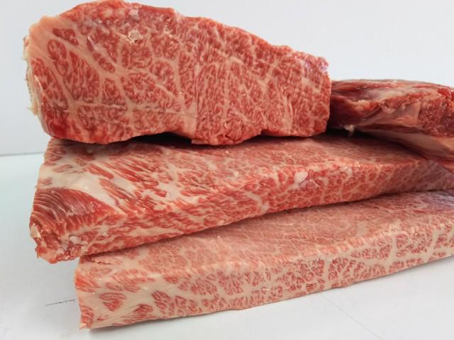 【量り売り】九州産黒毛和牛 特上カルビブロック 脂除去済 約0.7kg〜