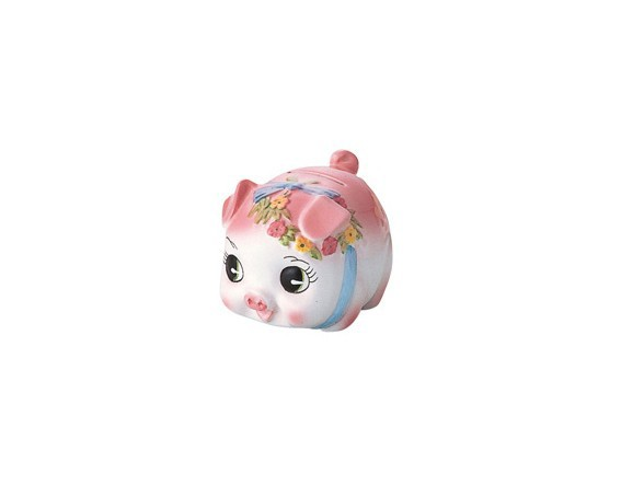 サンファームSun farm ピギーバンク 豚 貯金箱ミニ ピンク S0063A