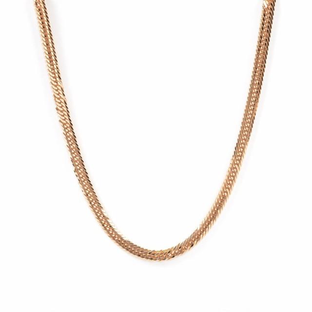 新品 喜平 ネックレス 12面トリプル 30g K18RG K18ローズゴールド 30.5g メンズ