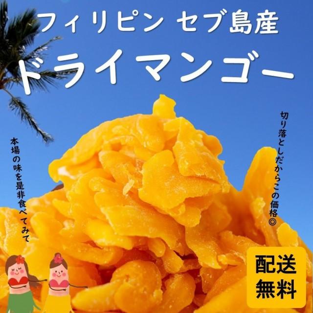 フィリピン・セブ島産 ドライマンゴー 500g ☆ 生食にも使われる高級部位を使用 最高級ドライマンゴー 送料無料 即日配送■