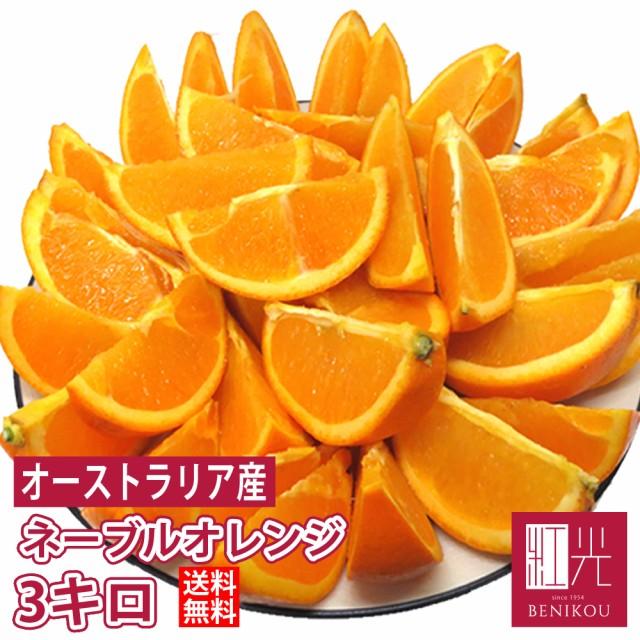 激甘 オレンジ 約3kg オーストラリア産 【送料無料】 「北海道・沖縄は+1100円」 果物 フルーツ ネーブル バレンシア 柑橘 ジュース