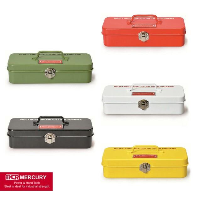 MERCURY マーキュリー ブリキミニツールボックス MEBUMT 工具箱 筆箱 ペンケース