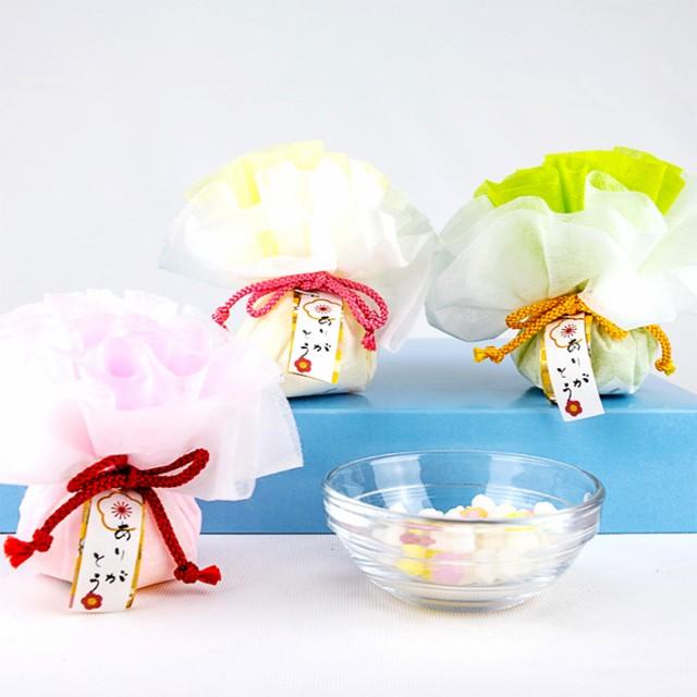 花・こんぺいとう ウェディング プチギフト 金平糖 結婚式 退職 お礼 お菓子 小分け包装でばら撒きにも対応 軽減税率対象