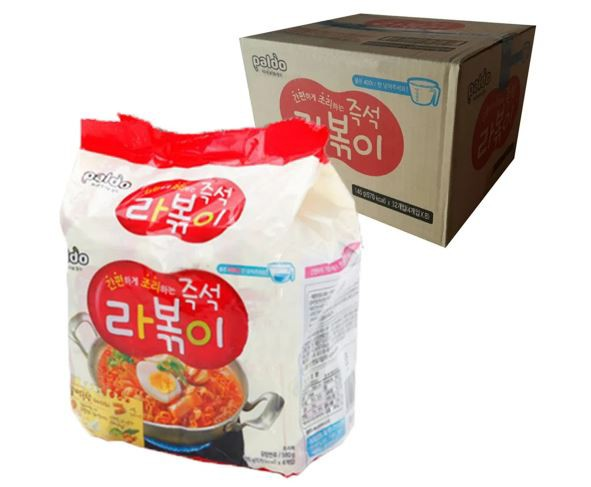 【Paldo パルド】即席 ラッポキ麺 145gx32個