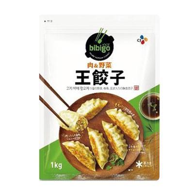 【韓国食品|餃子|冷凍】ビビゴ 王餃子(肉&野菜)1kg ★