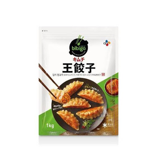 【韓国食品|餃子|冷凍】 ビビゴ 王餃子(キムチ)1kg ★