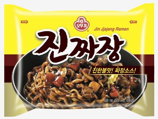 【訳あり/賞味9.30まで】【オットギ】眞ジャジャン/ ジンチャジャン麺 135g