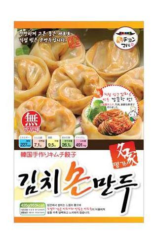 【韓国食品|餃子|冷凍】 名家 キムチ餃子420g(家庭用)