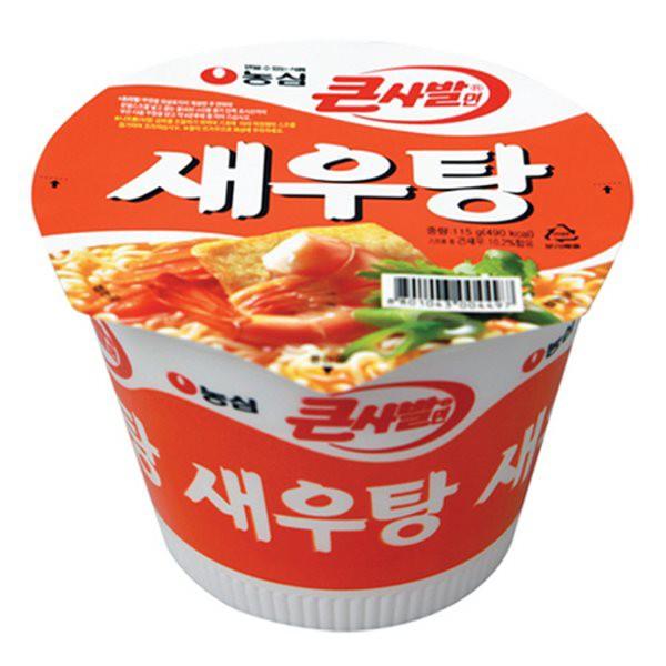 【農心】えびカップラーメン115g 【エビが入ったスープで美味しい】