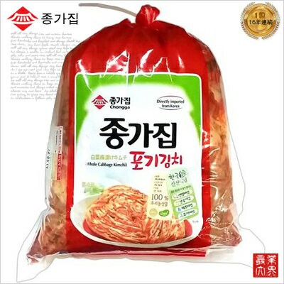 【セール中】宗家(ジョンガ) 白菜キムチ 10kg ※毎週木曜日新しいキムチ入荷/発送【冷蔵食品】