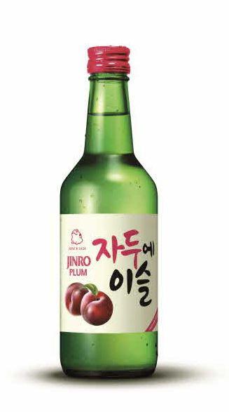 【JINRO|韓国お酒|チャミスルー】すもも味(ジャドゥヘイスル) 360ml