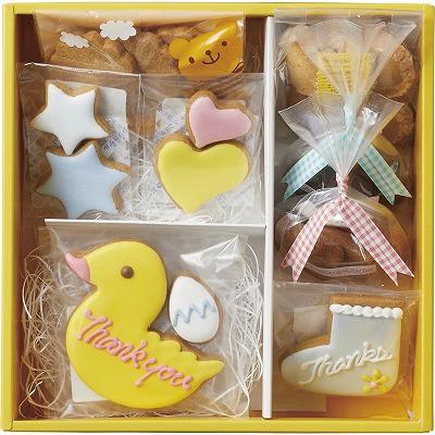 デコ・アンド・ベジ デコアートクッキー サンキューセットB DABTHG10 【内祝い/お歳暮 ギフト/出産内祝い/結婚内祝い/お祝い/香典返し/粗
