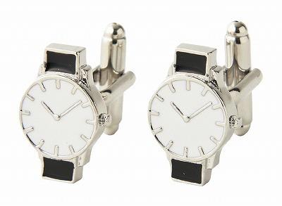 【送料無料 送料込み※北海道・沖縄県除く】カフスボタン 腕時計 700-001 【のし・包装不可】