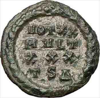 アンティークコイン コンスタンティヌス1世偉大な318AD古代の銀色のローマのコインリースi24496 Constantine I the Great 318AD Ancient