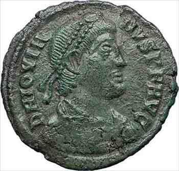 アンティークコイン 木星363AD珍しい本物の本物の古代ローマのコインリースi73704 Jovian 363AD Rare Genuine Authentic Ancient Roman C