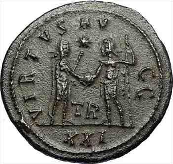 アンティークコイン CARINUS Authentic Ancient 283AD Roman Coin JUPITER VICTORY Tripolis i67425 CARINUS Authentic Ancient 283AD Ro