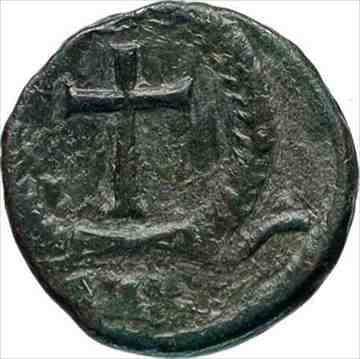 金貨 銀貨 硬貨 シルバー ゴールド アンティークコイン THEODOSIUS II 425AD本物の古代ローマのコインリース i46741内で交差 THEODOSIUS