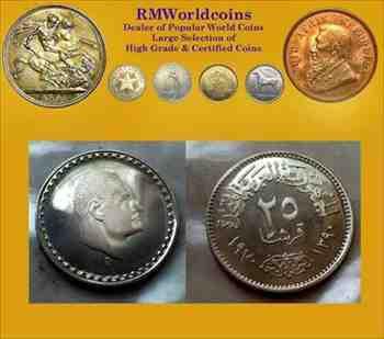 金貨 銀貨 硬貨 シルバー ゴールド アンティークコイン エジプト197025ピアストル レアPLまたは プルーフ カメオ ディープミラー レアデ