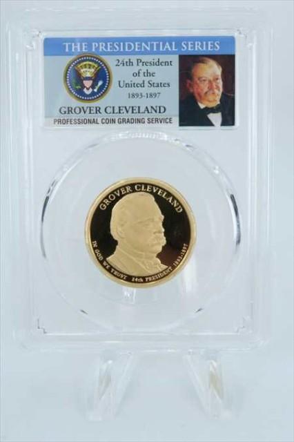 金貨 銀貨 硬貨 シルバー ゴールド アンティークコイン 2012-S PCGS PR69 DCAM グロバークリーブランド第24回大統領ドル硬貨$ 1 2012-S P