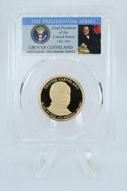 金貨 銀貨 硬貨 シルバー ゴールド アンティークコイン 2012-S PCGSPR69DCAMグロバークリーブランド第22回大統領ドル硬貨$ 1 2012-S PCGS