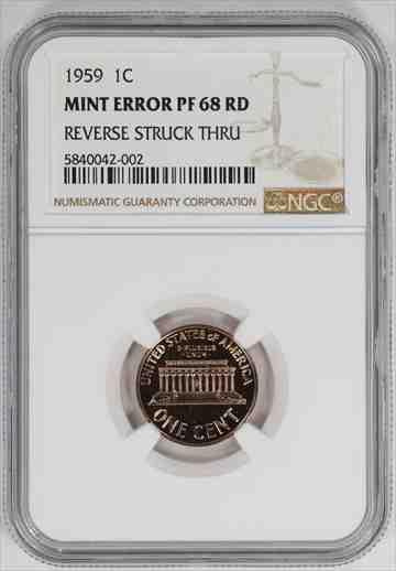 金貨 銀貨 硬貨 シルバー ゴールド アンティークコイン 1959年 プルーフ リンカーン記念センターペニー1CNGC PR PF 68 RDレッドミントエ