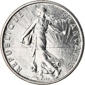 金貨 銀貨 硬貨 シルバー ゴールド アンティークコイン Qアノン ビットコイン トランプ #789416 Coin France Semeuse 1/2 Franc 1985 Par