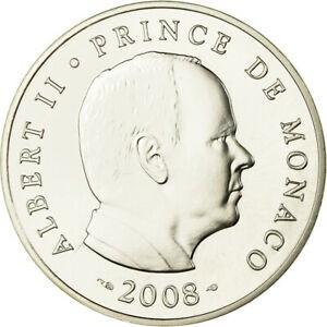 金貨 銀貨 硬貨 シルバー ゴールド アンティークコイン Qアノン ビットコイン トランプ #781289 Monaco 5 Euro 2008 MS(65-70) Silver Ga