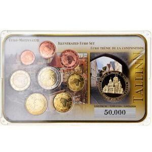 金貨 銀貨 硬貨 シルバー ゴールド アンティークコイン Qアノン ビットコイン トランプ #789171 Estonia 1 Cent to 2 Euro Tallinn 2011