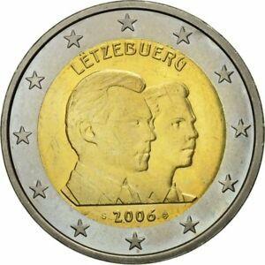金貨 銀貨 硬貨 シルバー ゴールド アンティークコイン Qアノン ビットコイン トランプ #581988 Luxembourg 2 Euro 2006 MS(60-62) Bi-Me
