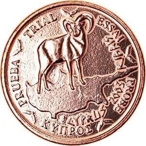 金貨 銀貨 硬貨 シルバー ゴールド アンティークコイン Qアノン ビットコイン トランプ #370536 Cyprus Medal 1 C Essai Trial 2003 Exon