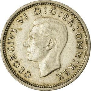 金貨 銀貨 硬貨 シルバー ゴールド アンティークコイン Qアノン ビットコイン トランプ #861817 Coin Great Britain George VI 3 Pence 1