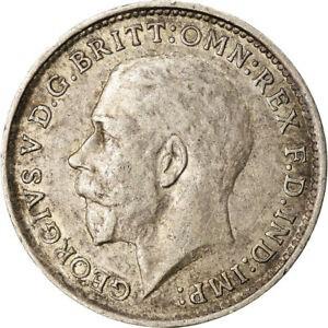 金貨 銀貨 硬貨 シルバー ゴールド アンティークコイン Qアノン ビットコイン トランプ #871615 Coin Great Britain George V 3 Pence 19