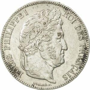 金貨 銀貨 硬貨 シルバー ゴールド アンティークコイン Qアノン ビットコイン トランプ #452137 France Louis-Philippe 5 Francs 1839 Bo