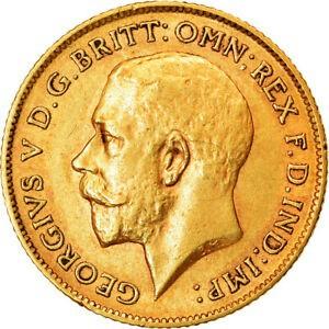金貨 銀貨 硬貨 シルバー ゴールド アンティークコイン Qアノン ビットコイン トランプ #853394 Coin Great Britain George V 1/2 Sovere