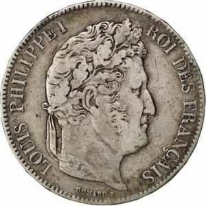 金貨 銀貨 硬貨 シルバー ゴールド アンティークコイン Qアノン ビットコイン トランプ #80225 FRANCE Louis-Philippe 5 Francs 1832 Par